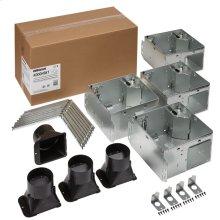 FLEX Series Humidity Sensing Bathroom Ventilation Fan Housing Pack with Flange Kit