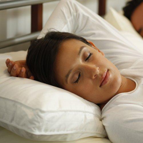 Sleep Plush + GelSoft Plush Soft Density Fiber Pillow, Standard / Queen