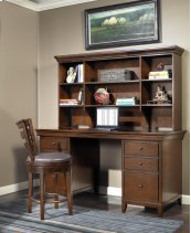 Artisan Light Office Open Hutch 69""
