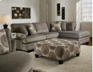 Smoke Sofa Chaise - RSF Product Image