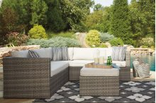 Ashley Outdoor Sectional (Peckham Park)