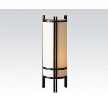 """Japanese Style Table Lamp, 24"""""""