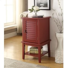 BURGANDY FLOOR CABINET