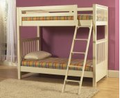 Meadowbrook Bunk Bed Ends (Wht)