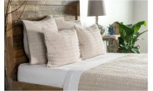 Heirloom Natural Quilt 4Pc King Set