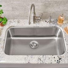 Portsmouth Undermount 30x18 Single Bowl Kitchen Sink  American Standard - Stainless Steel