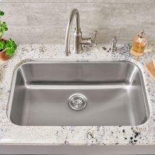 Portsmouth Undermount 30x18 Single Bowl Kitchen Sink  American Standard - Stainless Steel
