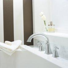 Tropic Deck-Mount Bathtub Faucet Trim Kit - Polished Chrome