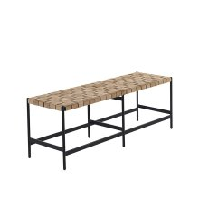 Omari Bench - Brown