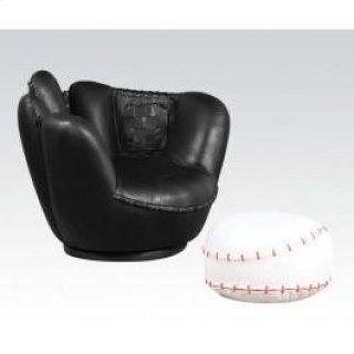 Baseball Chair & Ottoman