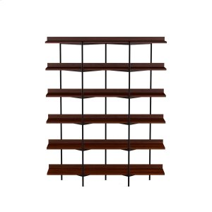 Bdi FurnitureShelving System 5306 in Chocolate Stained Walnut Black