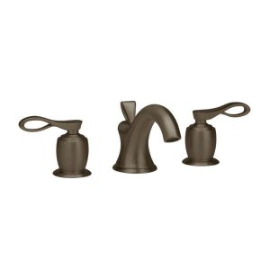 AMPHORA Widespread Faucet K104 - Polished Brass