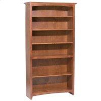 """GAC 72""""H x 36""""W McKenzie Alder Bookcase Product Image"""