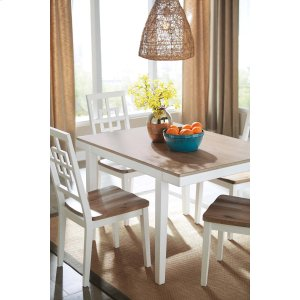 AshleySIGNATURE DESIGN BY ASHLEYBrovada - Two-tone 1 Piece Dining Room Set