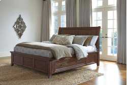 Mardinny - Medium Brown 4 Piece Bed Set (King)