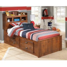 Barchan - Medium Brown 5 Piece Bed Set (Twin)