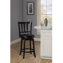 Presque Isle Swivel Counter Height Stool - Black