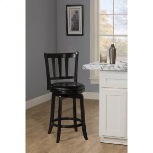 Hillsdale FurniturePresque Isle Swivel Counter Height Stool - Black