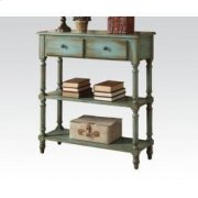Antique Green Console Table Product Image