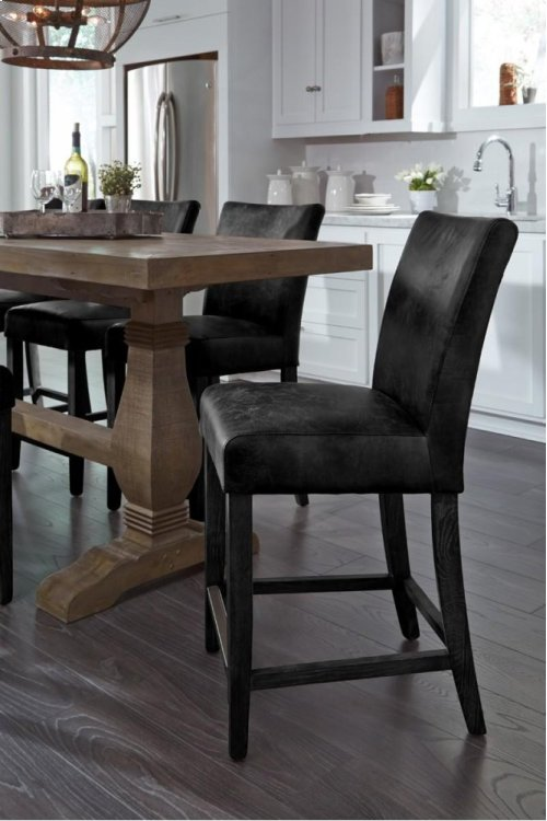 Decker Counter Stool Black