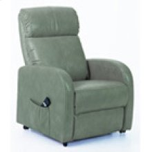REC-5952 Canto Aqua Leather Recliner
