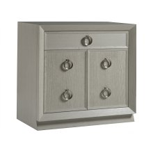 Zeitgeist White Hall Door Chest