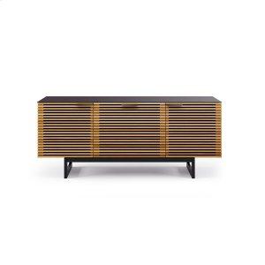 Bdi FurnitureTriple Width Cabinet 8177 in White Oak