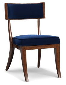 Living Room Perch Upholstered Klismos Chair