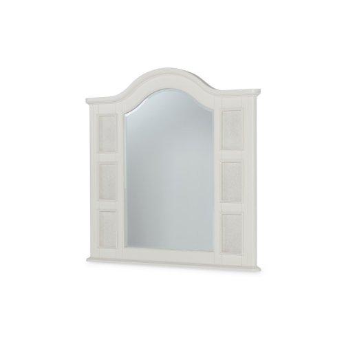 Summerset - Ivory Landscape Photo Mirror