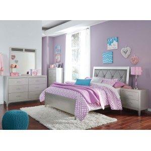 Ashley Furniture Olivet - Silver 2 Piece Bed Set (Full)