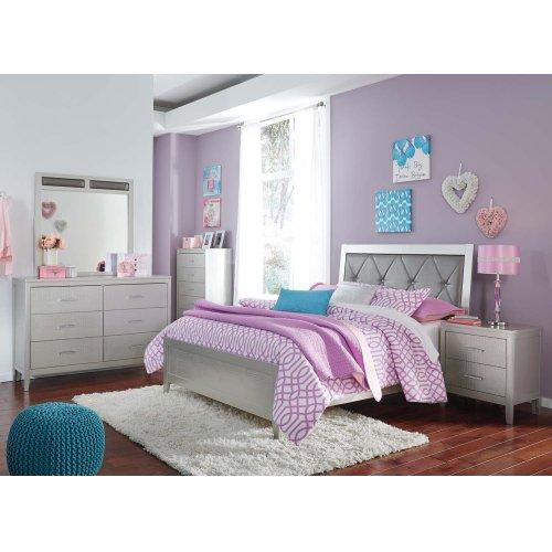 Olivet - Silver 2 Piece Bed Set (Full)
