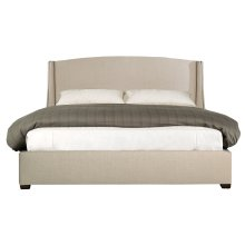 """Queen-Sized Cooper Wing Bed (54"""" H) in Espresso"""