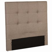 Henley Upholstered Kids Headboard Panel with Button Tufted Design, Sand Castle Finish, Twin Product Image
