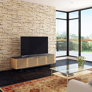 Bdi FurnitureLow Media Cabinet 8173 in Environmental