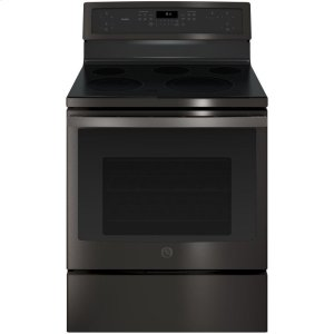 "GE ProfileGE PROFILEGE Profile™ 30"" Free-Standing Electric Convection Range"