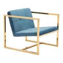 Alt Arm Chair Blue Velvet
