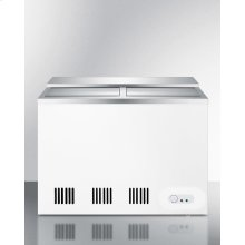 Commercial Manual Defrost Back Bar Chest Cooler for Storing Beer