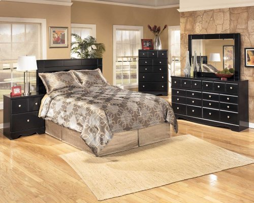 Shay 3 Pc. Bedroom - Dresser, Mirror & Headboard