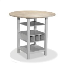 Ridgewood Birch and Grey Counter Table