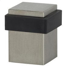 Modern Square Floor Door Stop in (Modern Square Floor Door Stop - Solid Stainless Steel)
