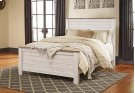 """Whitewash Driftwood"" Panel Bed (Queen HB,FB.Rails) Product Image"