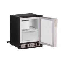 """Marine Series 15"""" Marine Crescent Ice Maker With Stainless Solid Finish and Field Reversible Door Swing (115 Volts / 60 Hz)"""