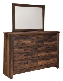 Quinden - Dark Brown 2 Piece Bedroom Set