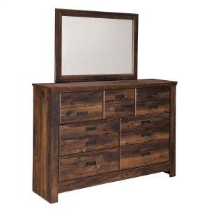 Ashley Furniture Quinden - Dark Brown 2 Piece Bedroom Set