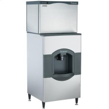 30 Inch Wide Hotel / Motel Ice Cube Dispenser and Cuber