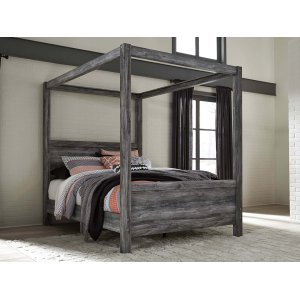 Ashley Furniture Baystorm - Gray 3 Piece Bed Set (Queen)