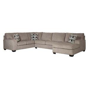 Ashley Furniture Ballinasloe - Platinum 3 Piece Sectional