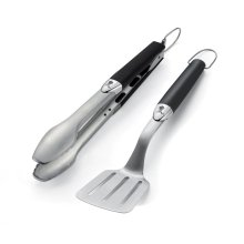 WEBER ORIGINAL - Stainless Steel Two-Piece Portable Tool Set