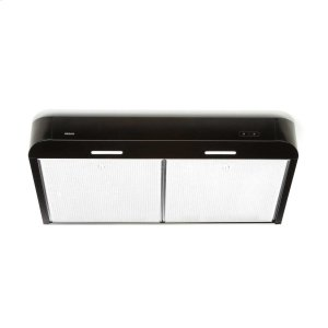 BroanAntero 36-Inch 250 CFM Black Range Hood with LED light