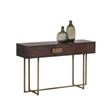 Jade Console Table - Brown